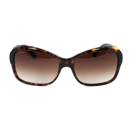 Bulgari // Women's BV8153B Sunglasses // Dark Havana