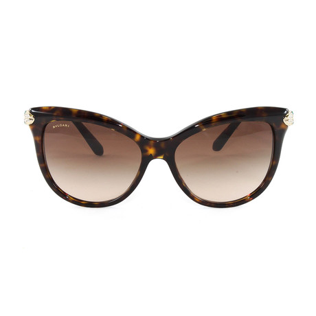 Bulgari // Women's BV8188B Sunglasses // Dark Havana