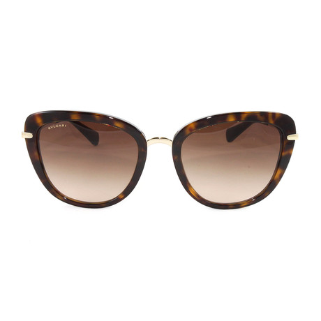 Bulgari // Women's BV8193B Sunglasses // Dark Havana