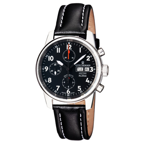 Revue Thommen Airspeed Xlarge Chronograph Automatic // 16051.6537 // Store Display