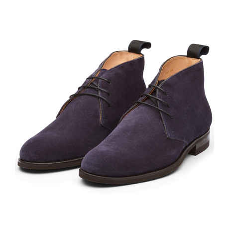 Suede Chukka Boot // Navy (US: 7)