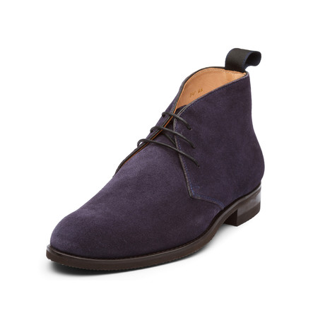 Landon Classic Chukka Boots // Navy Blue (UK: 6)