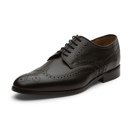 Alden Oxford Leather Lined Shoes // Black (UK: 6)
