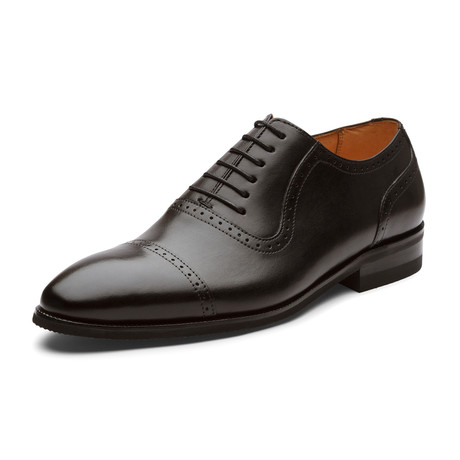 Santos Oxford Leather Lined Shoes // Black (UK: 6)