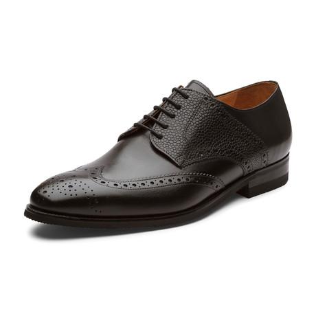Jason Oxford Leather Lined Shoes // Black (UK: 6)