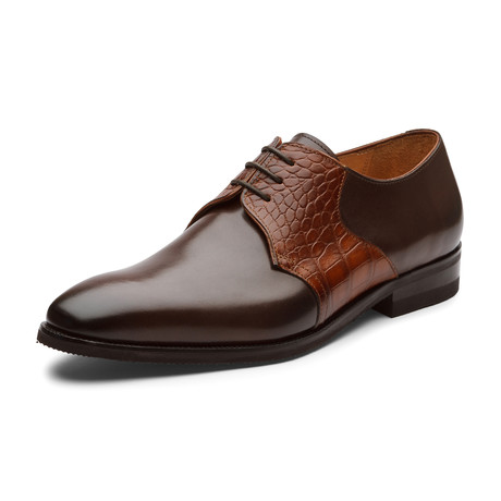 Hudson Oxford Leather Lined Shoes // Brown (UK: 6)