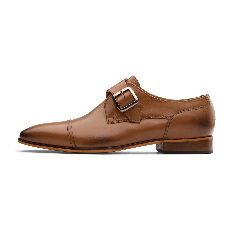 Dapper Tan Kitchen: Jaden Oxford Leather Lined Shoes // Tan (UK: 10)