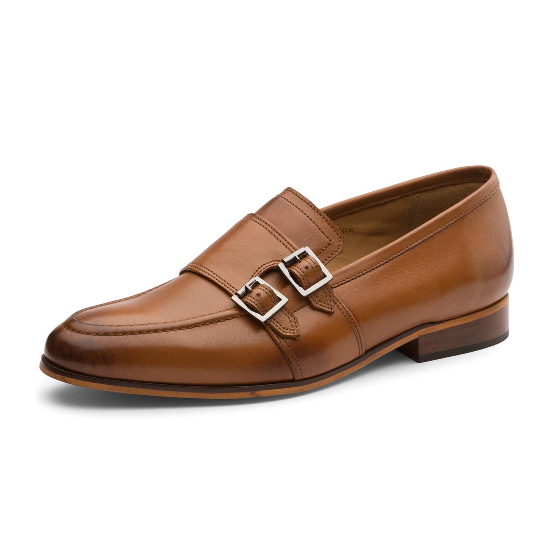 Dapper Tan Kitchen: Ali Oxford Leather Lined Shoes // Tan (UK: 6)