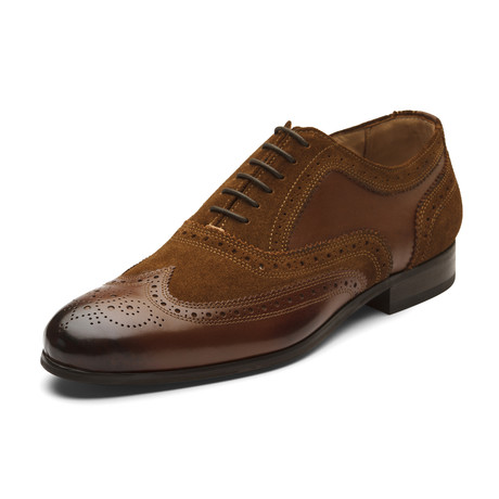 Timothy Oxford Leather Lined Shoes // Brown (UK: 6)