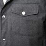 Edgar Jacket // Dark Gray (2XL)
