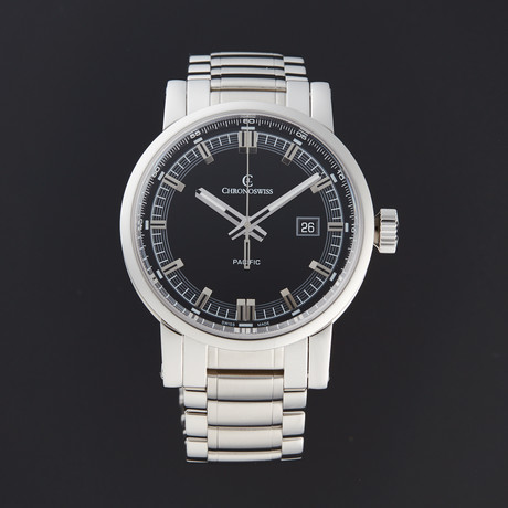 Chronoswiss Grand Pacific Automatic // CH-2883B-BK/S0-2 // Store Display