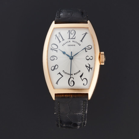 Franck Muller Cintree Curvex Automatic // 5850 SC // Pre-Owned