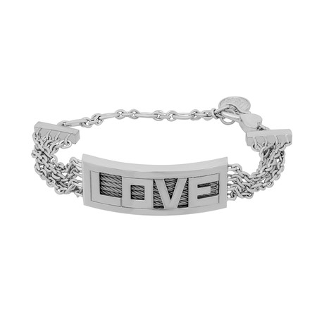 Charriol // Forever Love Stainless Steel Bangle