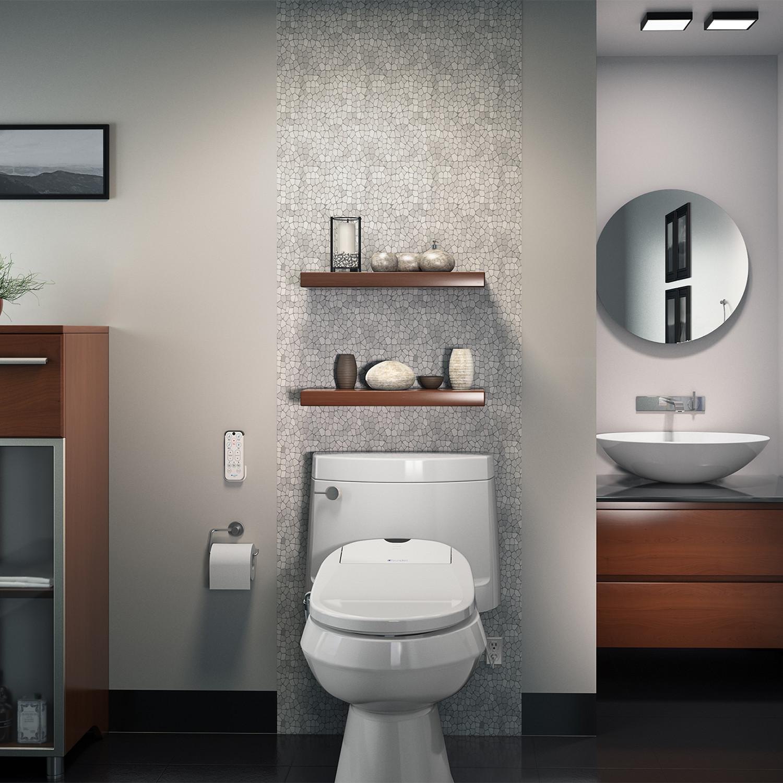 Enjoyable Swash 1000 Advanced Bidet Toilet Seat Round Brondell Unemploymentrelief Wooden Chair Designs For Living Room Unemploymentrelieforg
