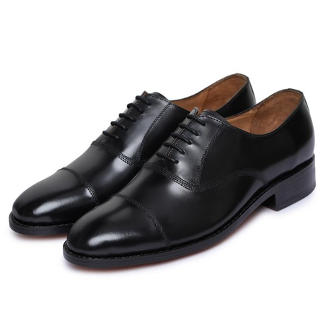 Captoe Oxford Goodyear Welted // Black (US: 8)