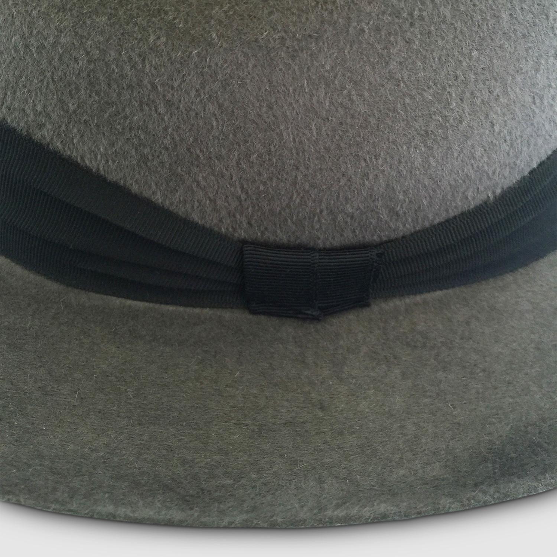 2b2e8b6ff4ad0 Accona Rabbit Felt Fedora    Grey (S) - Tom Smarte - Touch of Modern