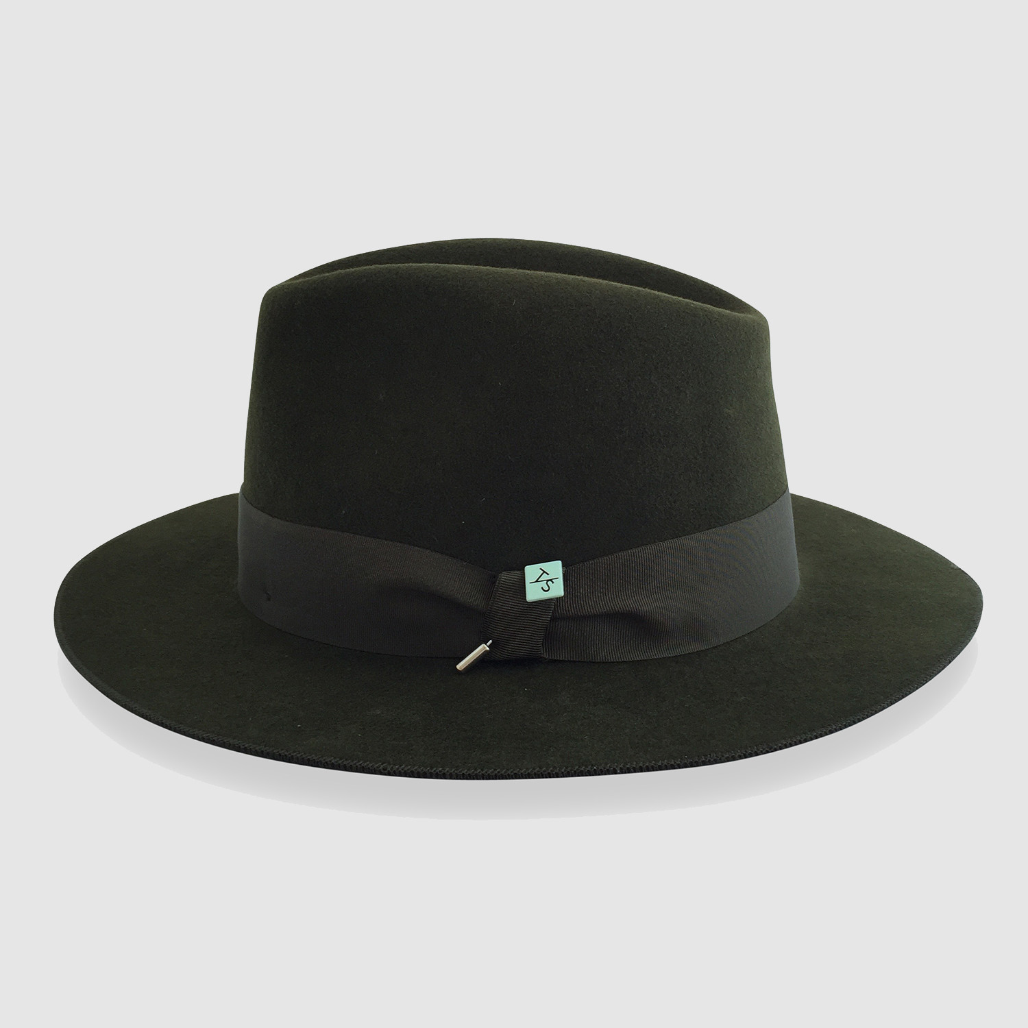 Chalbi Wool Felt Fedora    Forest Green (S) - Tom Smarte - Touch of ... 3f1614a85c5