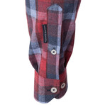 Ophiuchus Dress Shirt // Multicolor Plaid (XS)
