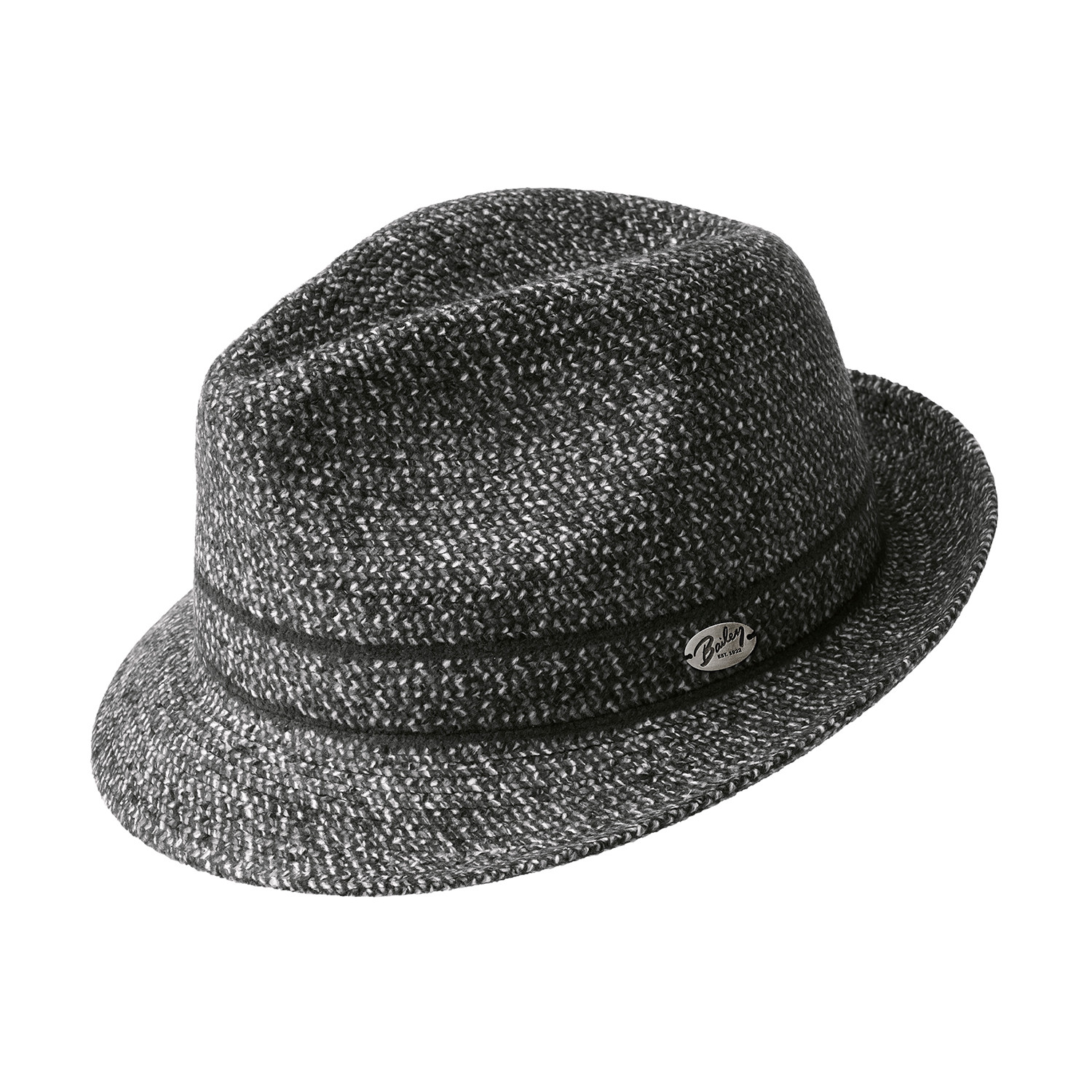 3f05addf80f Castro    Black Melange (Large) - Bailey Hat Company - Touch of Modern