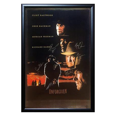 Signed + Framed Poster // Unforgiven