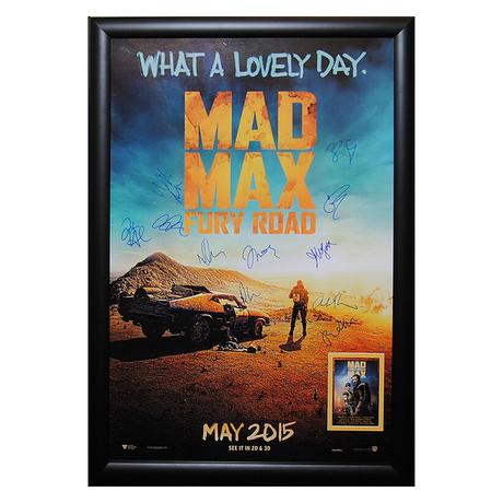 Signed + Framed Poster // Mad Max