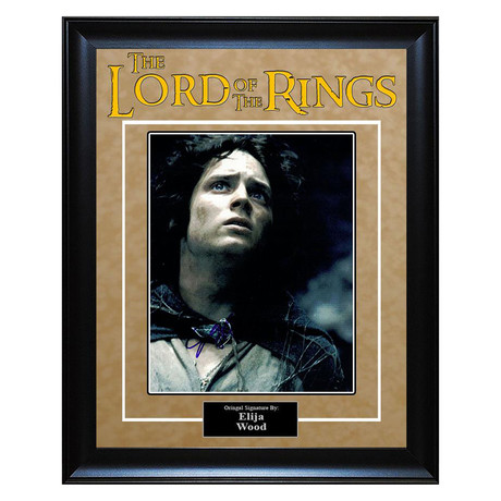 Signed + Framed Artist Series // Lord of the Rings // Elijah Wood