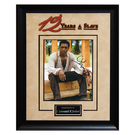 Signed + Framed Artist Series // 12 Years A Slave