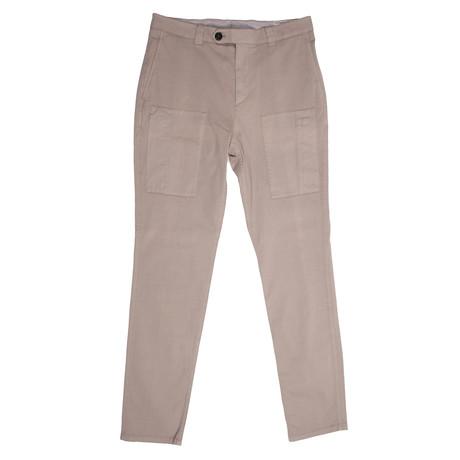 Gilmore Cargo Pants // Beige (28WX32L)