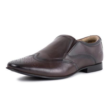 Slip On Shoe // Brown (UK: 7)