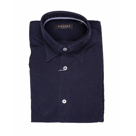 Modern Fit Shirt // Blue (S)