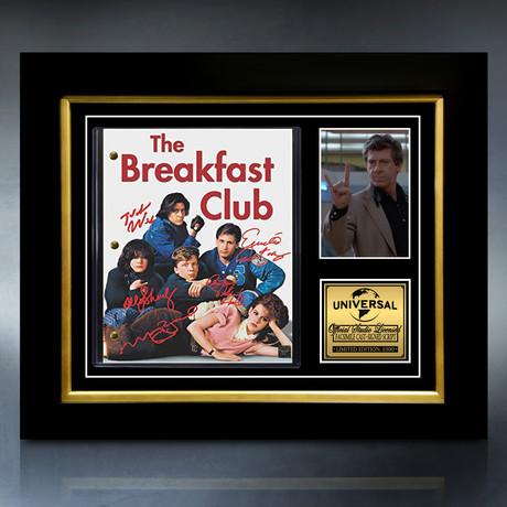 The Breakfast Club Script // Limited Edition // Custom Frame
