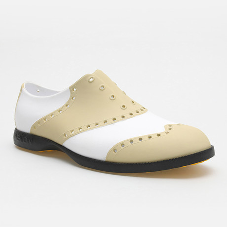 Classics Oxford // White + Tan (US: 7)