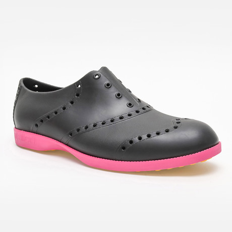 Brights Oxford // Black + Magenta (US: 7)