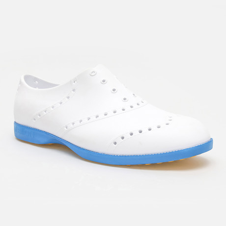 Brights Oxford // White + Blue (US: 7)