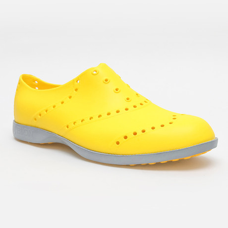 Brights Oxford // Mustard + Gray (US: 7)