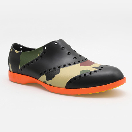 Patterns Camo Oxford // Black + Green Multi (US: 7)