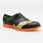 Patterns Camo Oxford // Black + Camouflage (US: 7)