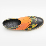Patterns Luau Oxford // Black + Yellow Multi (US: 9)