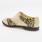 Patterns Leopard Oxford // Off-White + Leopard Print (US: 9)