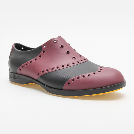 Wingtips Oxford // Crimson Red + Black (US: 7)