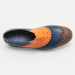 Wingtips Oxford // Orange + Brown + Navy (US: 7)