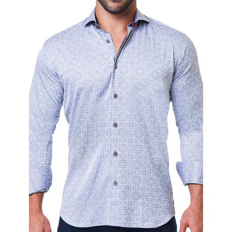 Einstein Architecture Dress Shirt // Gray (S)