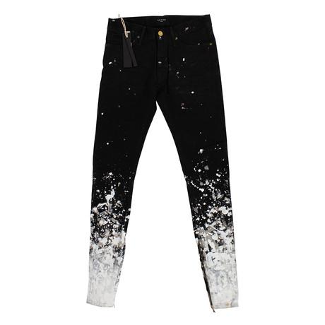 Fear Of God // Selvedge Denim Painters Jeans // Black (36WX32L)