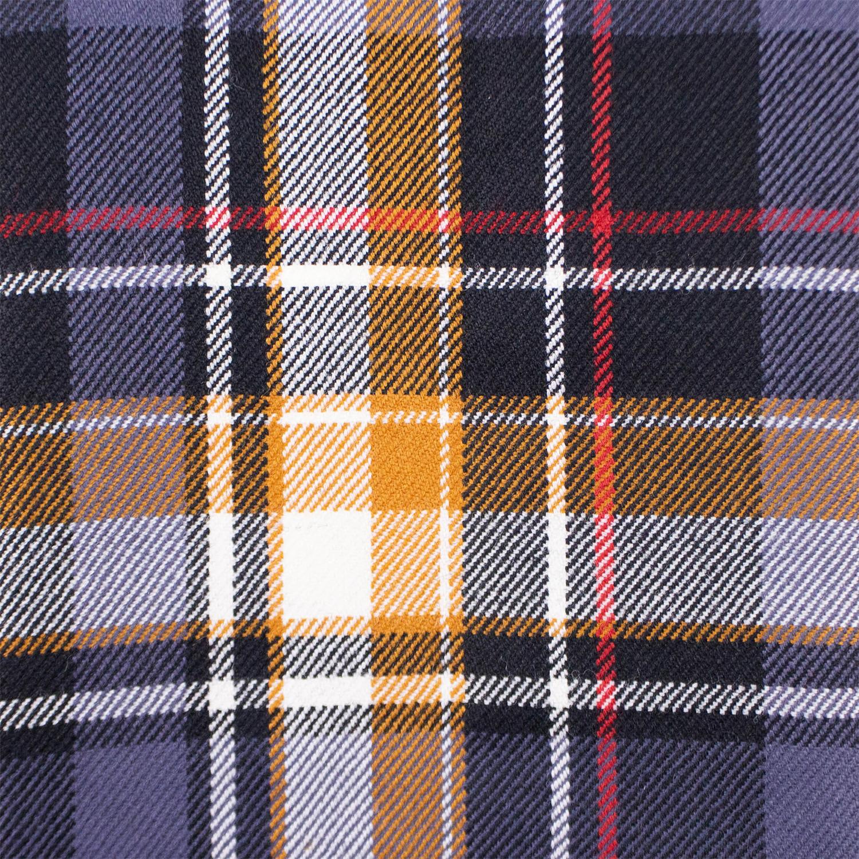 acc9bca5af Fear Of God    Purple Plaid Oversized Denim Collared Flannel Shirt     Purple (
