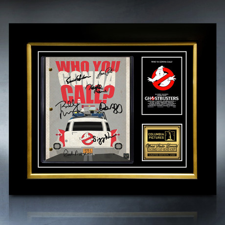 Ghostbusters // Limited Edition // Custom Frame