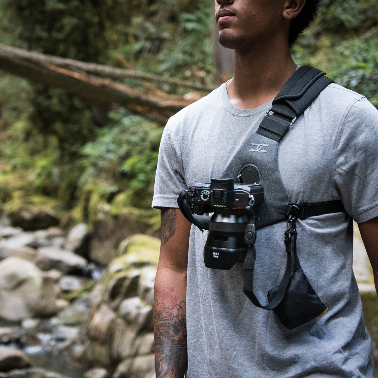 Skout Camera Harness // 1 Camera - Cotton Carrier - Touch of Modern