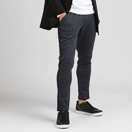 Jaden Track Pants // Navy Melange (XL)