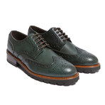 Wing Cap Derby // Green Forest (Euro: 45)