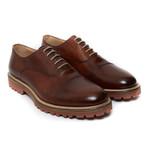 Toe Cap Oxford Iv // Brown (Euro: 45)