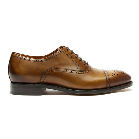 Toe Cap Oxford Goodyear // Brown (Euro: 40)